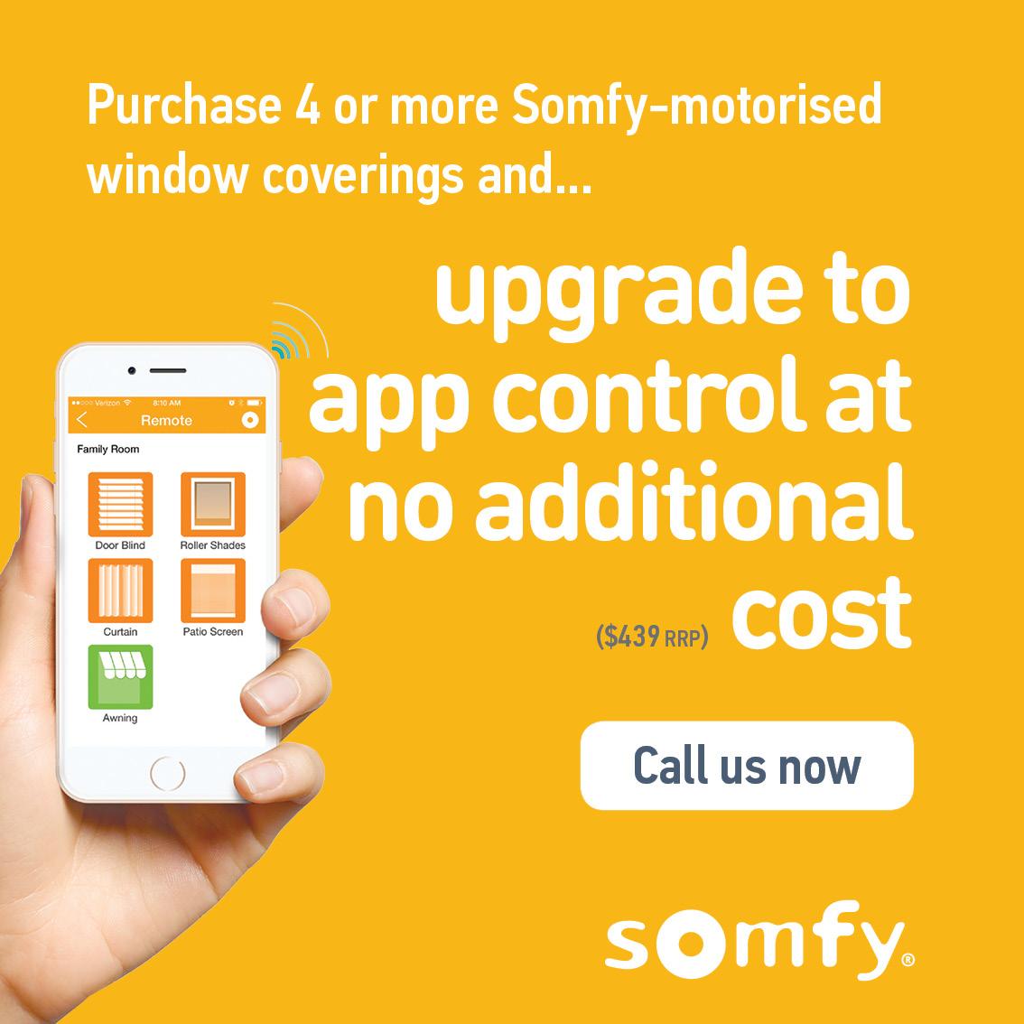 Somfy Expert Exclusive: FREE Somfy myLink - au
