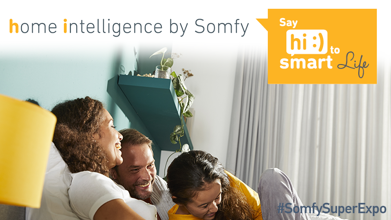 Discover home intelligence by Somfy at SuperExpo 2019